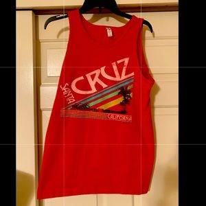 NWT Santa Cruz muscle tank top men's medium